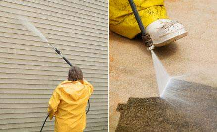 Apartment Pressure Washing