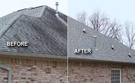 Roof Cleaning Before & After